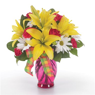Sunny and Bright flower bouquet (BF2-11K)